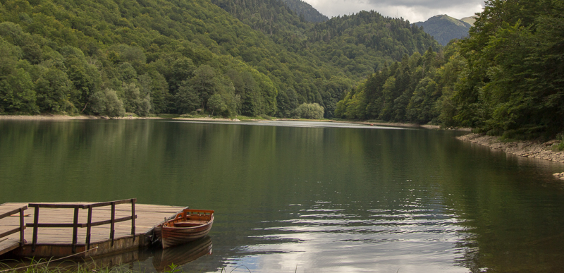 Lake at Biogradska Gora