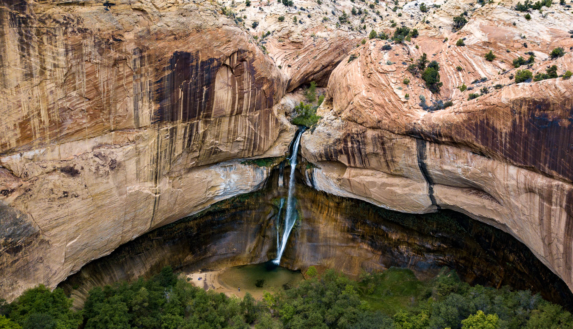 canyon-waterfall-drone