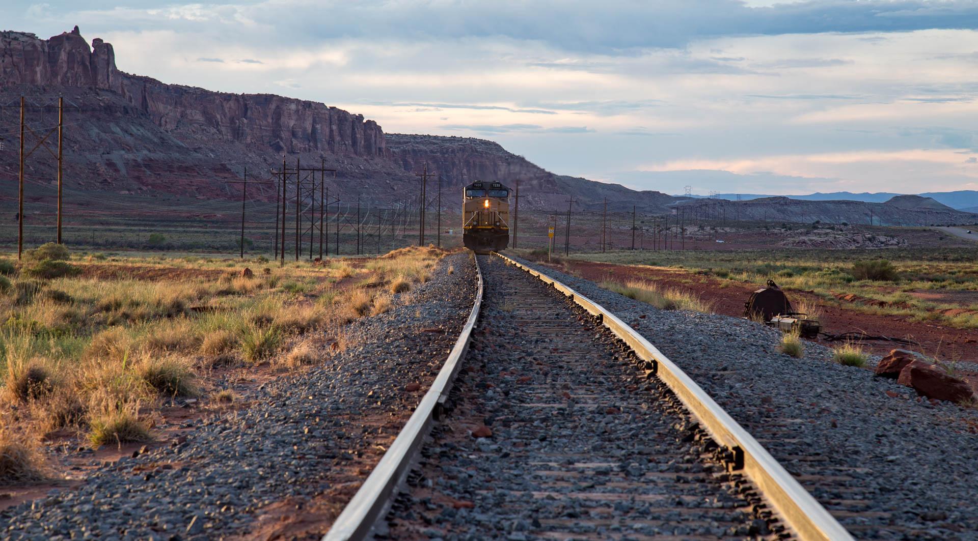 train-leaving