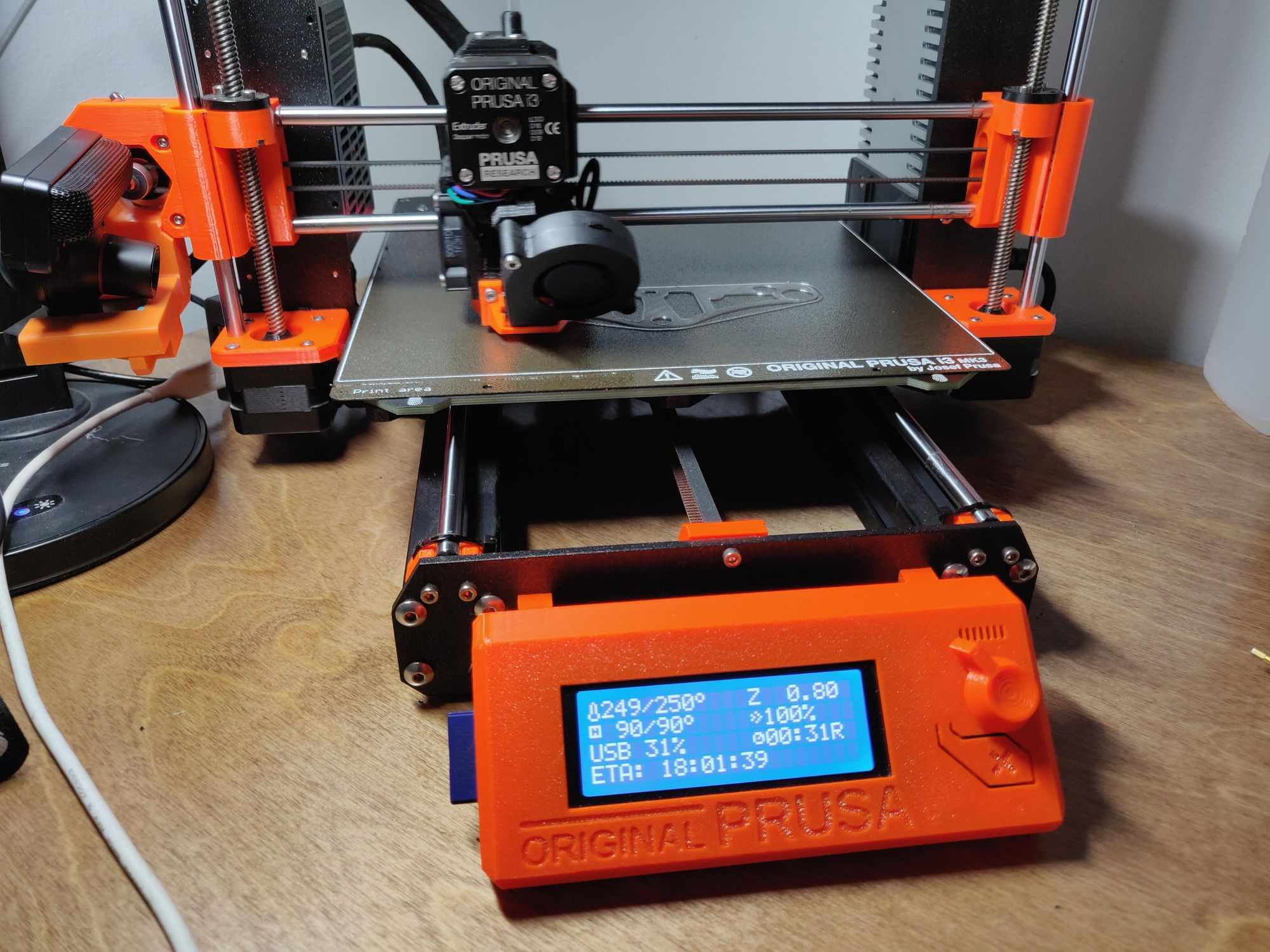 Eliminate 3d Printing Mesh Bed Leveling Globs on a Prusa i3 MK3