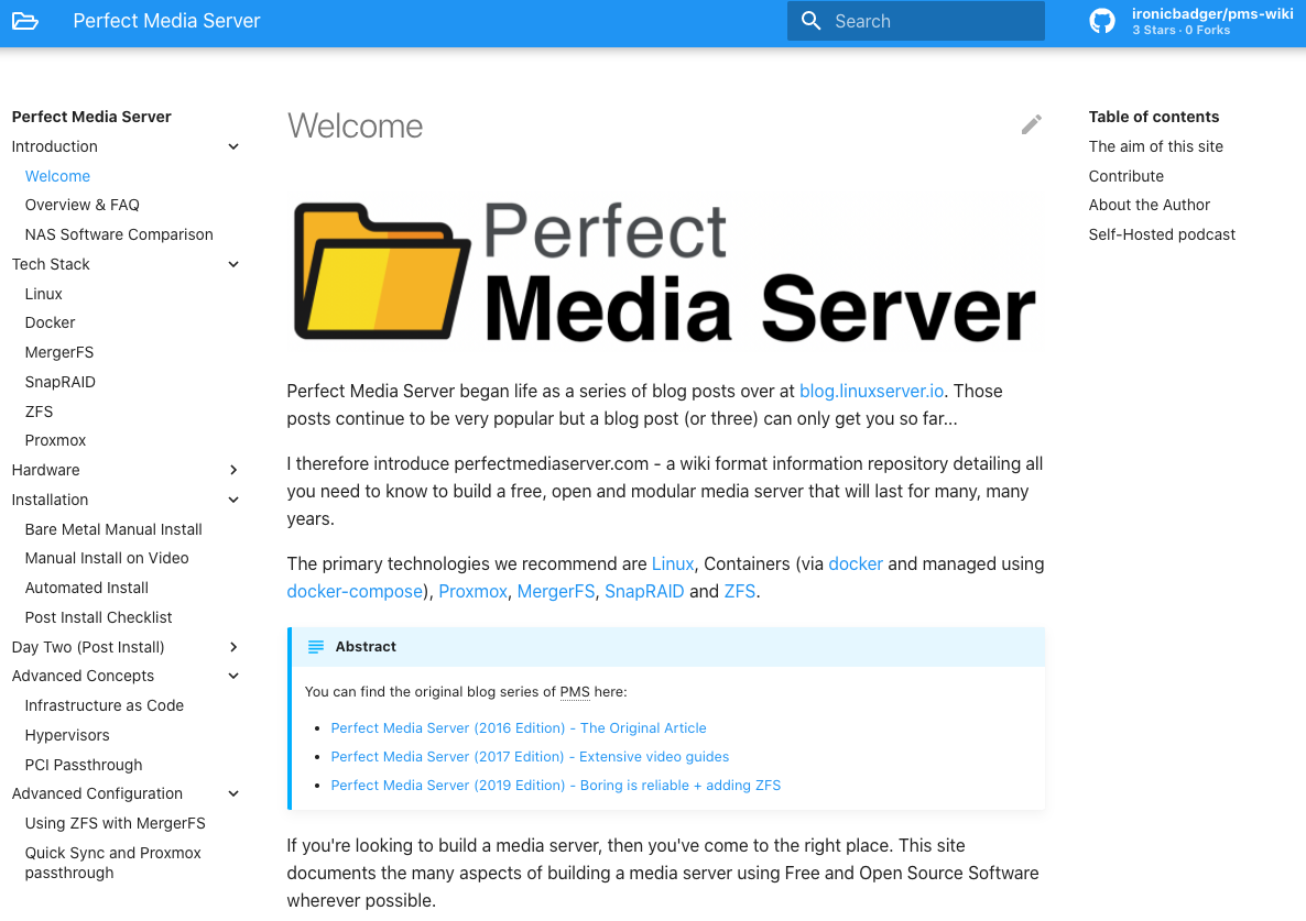 The Perfect Media Server - 2020 Edition