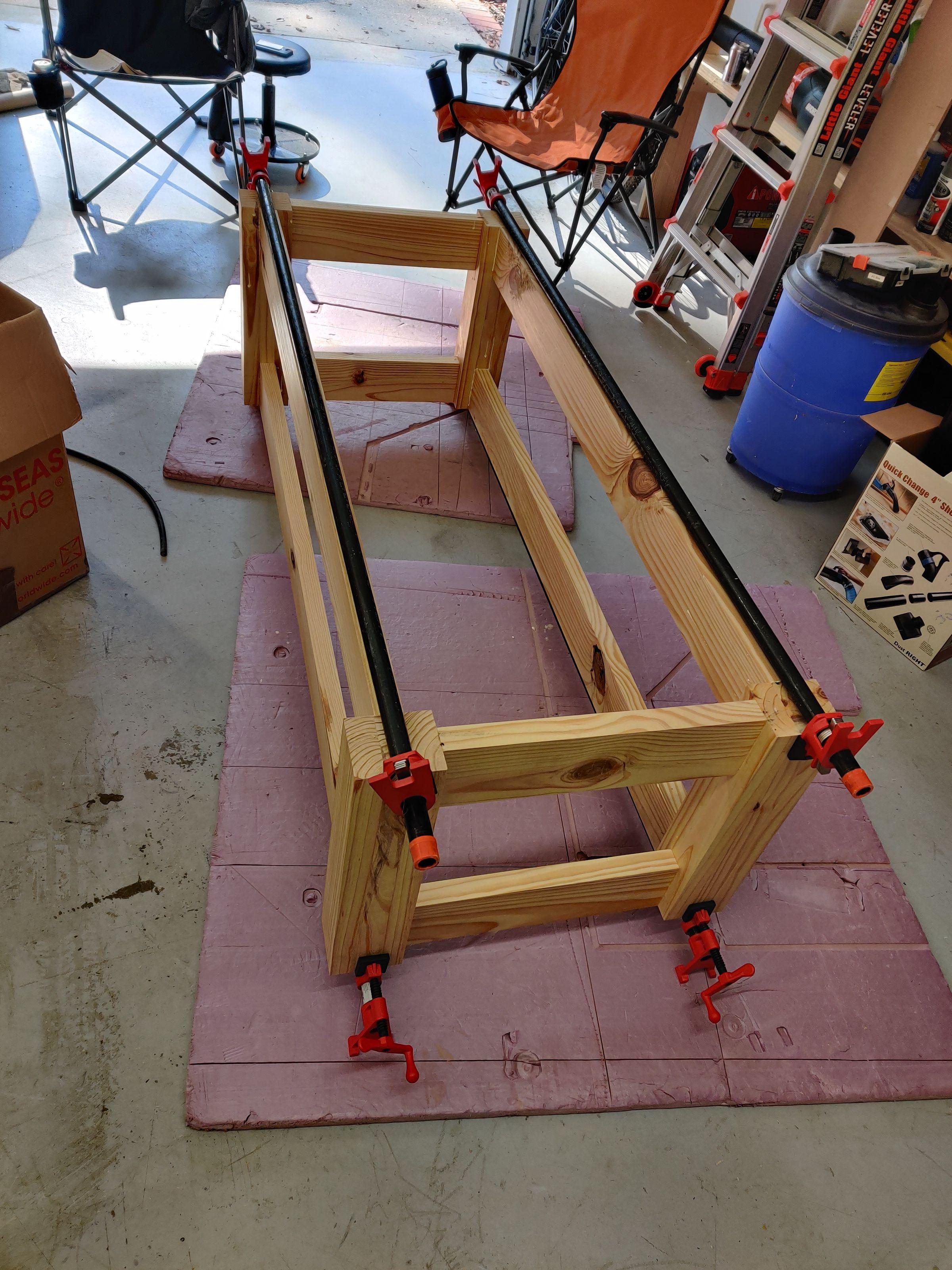 Building a modified Paulk Smart Workbench