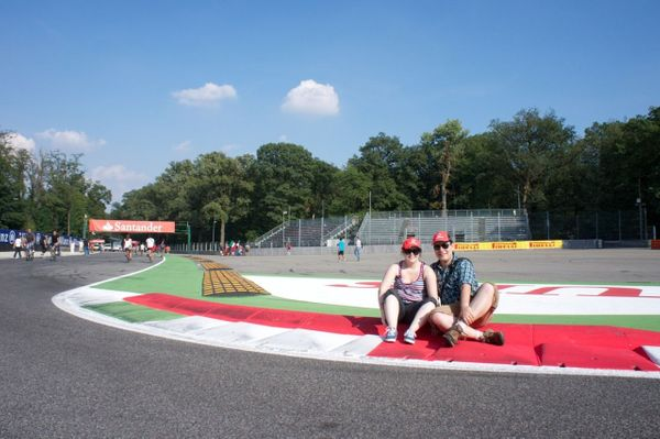 Hot F1 at Monza