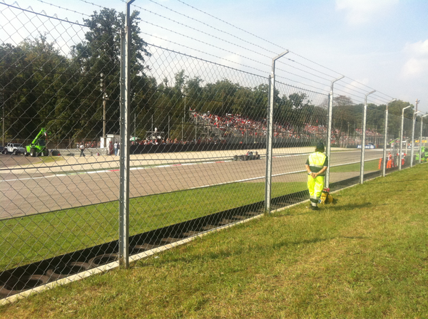 Ready for the F1 at Monza