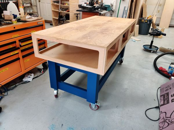 Building a modified Paulk Smart Workbench